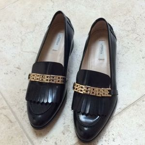 Uterque loafers size 38, new no box